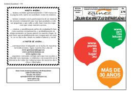Zurekin Zuzenean - 174