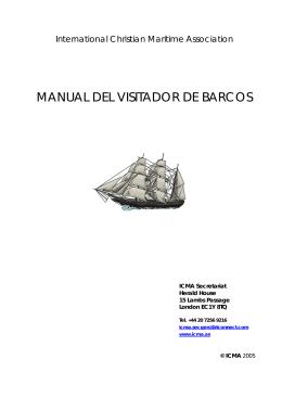 Manual del Visitador de Barcos