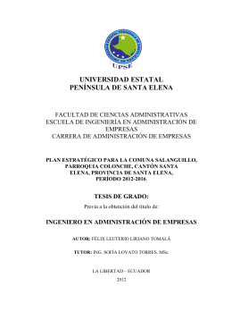 FÉLIX LIRIANO TOMALÁ - Repositorio Digital UPSE
