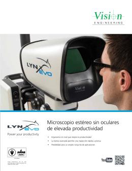 Lynx EVO Brochure v1.1 Spanish LA