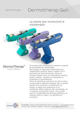 Folleto DHERMO GUN