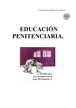 educación penitenciaria