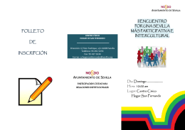 II Encuentro - Redes Interculturales