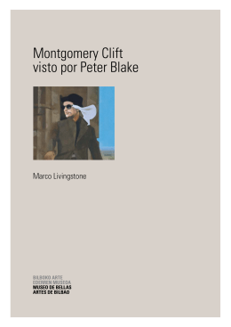 Montgomery Clift visto por Peter Blake