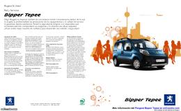 Catálogo del Peugeot Bipper Tepee