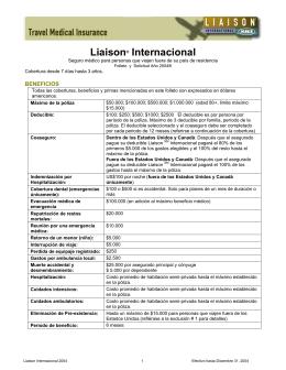 Liaison® Internacional