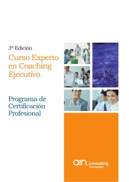 Folleto Experto Coaching 3ª Edicion.ai - Formación