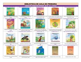 BIBLIOTECA DE AULA DE PRIMARIA CATALOGO TOTAL