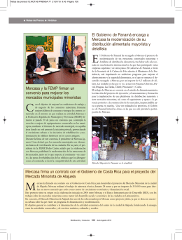 Notas de prensa /Noticias