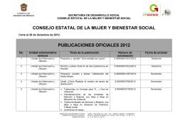 Publicaciones 2012