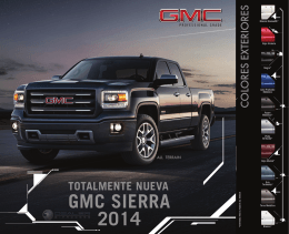 GMC SIERRA 2014 - Dealer E