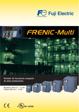 Folleto Frenic Multi