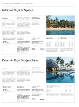 Extensión Playa De Ngwe Saung Extensión Playa