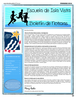 February 2014 Newsletter SP