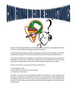 Descarga - Bienvenid@sa nuestro sitio.. Guías Mayores Chalate