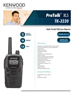 ProTalk XLS TK-3230