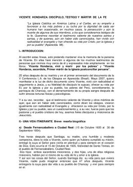 VICENTE HONDARZA - Diócesis de Ciudad Real