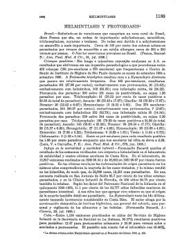 1189 HELMINTIASIS Y PROTOZOASIS1