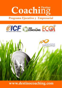 Programa formativo en Coaching para colaborado