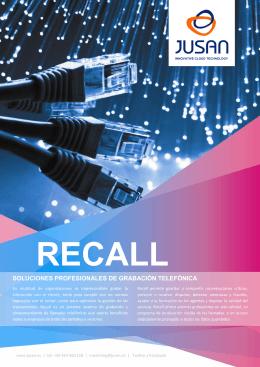 Recall - Jusan