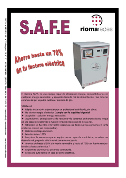 folleto safe