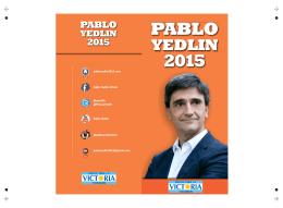 Díptico | Pablo Yedlin 2015 – Presentación