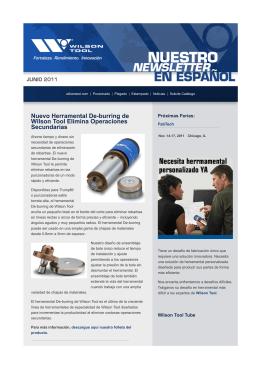 Nuestro Newsletter en Español