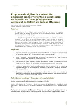 vigilancia - Gobierno de Aragón