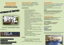 cursos ingles irlanda 2012 rathdown school