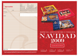Folleto Productos 2009.indd - mantecados san