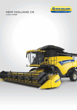 Spec CR6080 - New Holland