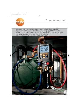 TESTO-Folleto analitzador digital gasos refrigerants 550-2