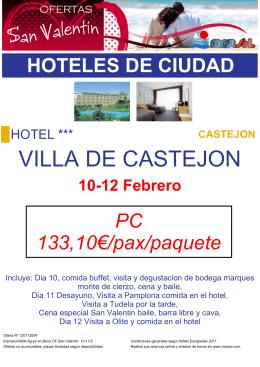 VILLA DE CASTEJON