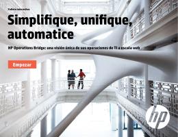 Simplificar, unificar y automatizar la gestión de eventos de TI