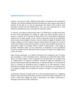 Exposición `Axiomas` (Ayuntamiento de Leganés