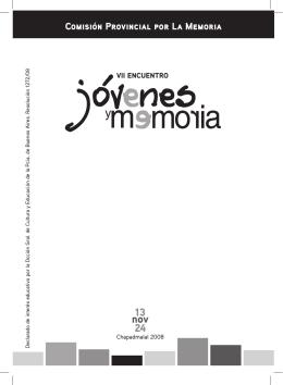 catalogo - Comisión Provincial por la Memoria