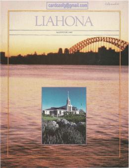 LIAHONA AGOSTO 1987
