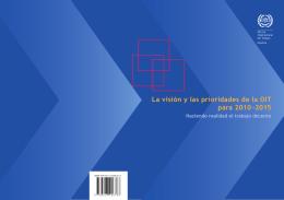 La visión y las prioridades de la OIT para 2010-2015, folleto