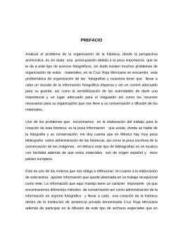 PREFACIO - Biblioteca