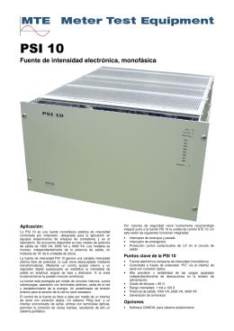 PSI 10