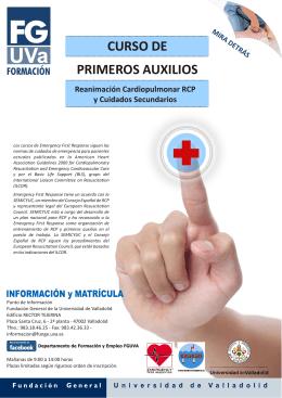 2011 PRIMEROS AUXILIOS Folleto.cdr