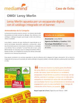 OMD/ Leroy Merlin