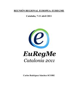 EUREGME Cataluña, 7-11 abril 2011 - IFMSA