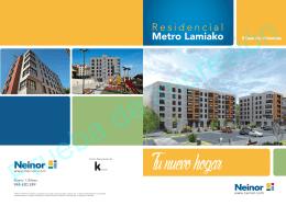 Metro Lamiako R e s i d e n c i a l