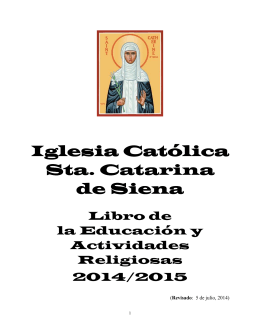Iglesia Católica Sta. Catarina de Siena