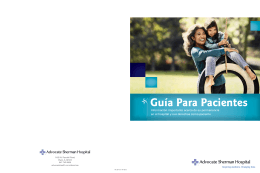 Guía Para Pacientes - Advocate Health Care