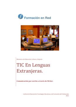 TIC en el Área de Lenguas Extranjeras