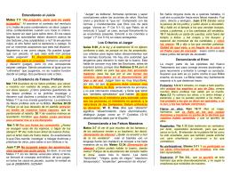 ort05 ¿Es correcto juzgar? - Folletos y Tratados Evangelicos