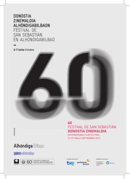 Donostia Zinemaldia Alhondiga Bilbaon - Egitaraua