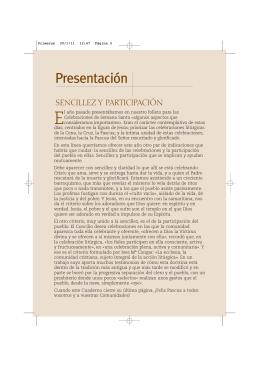 Presentación - editorial VERBO DIVINO